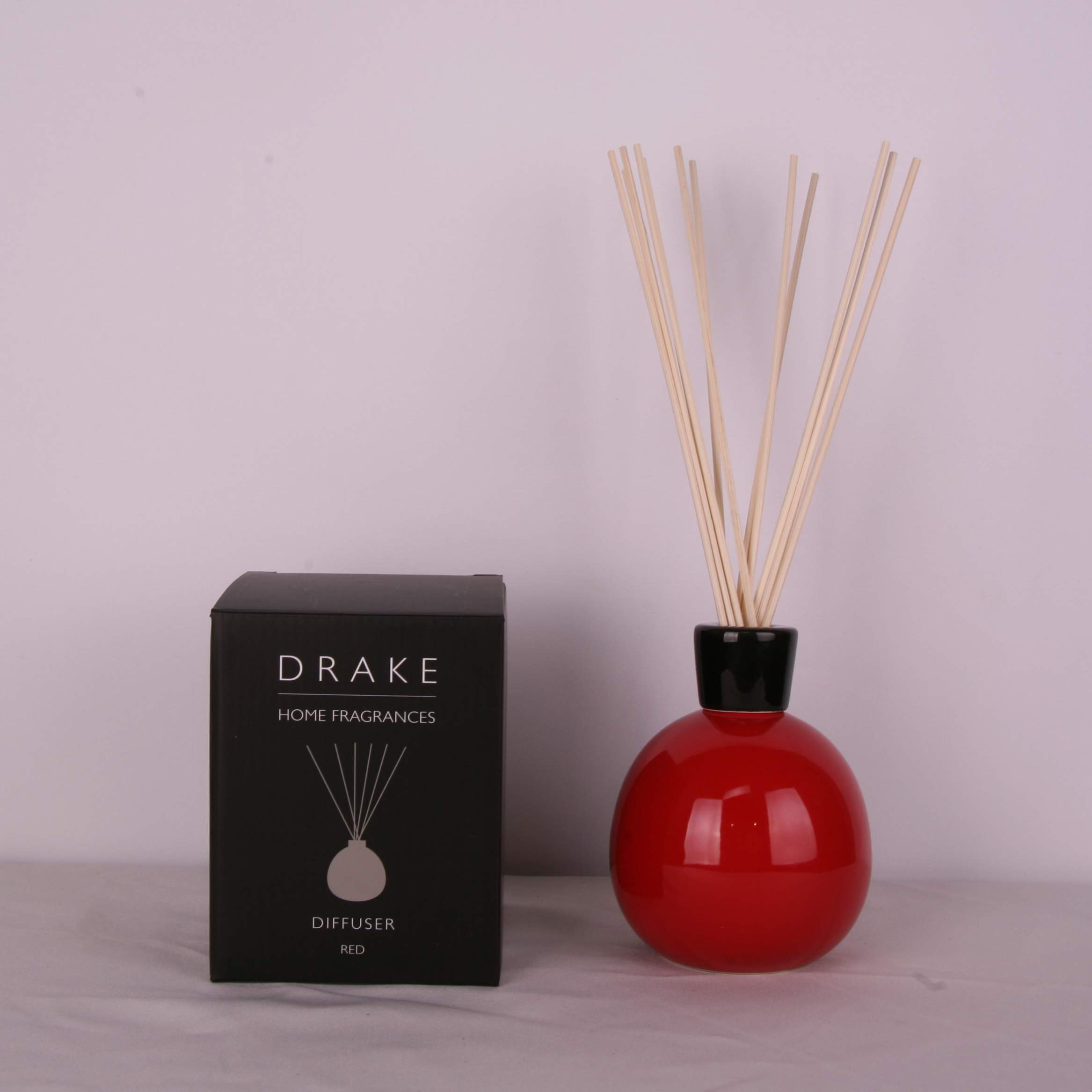 Vase Lux Ball Diffuseur Rouge