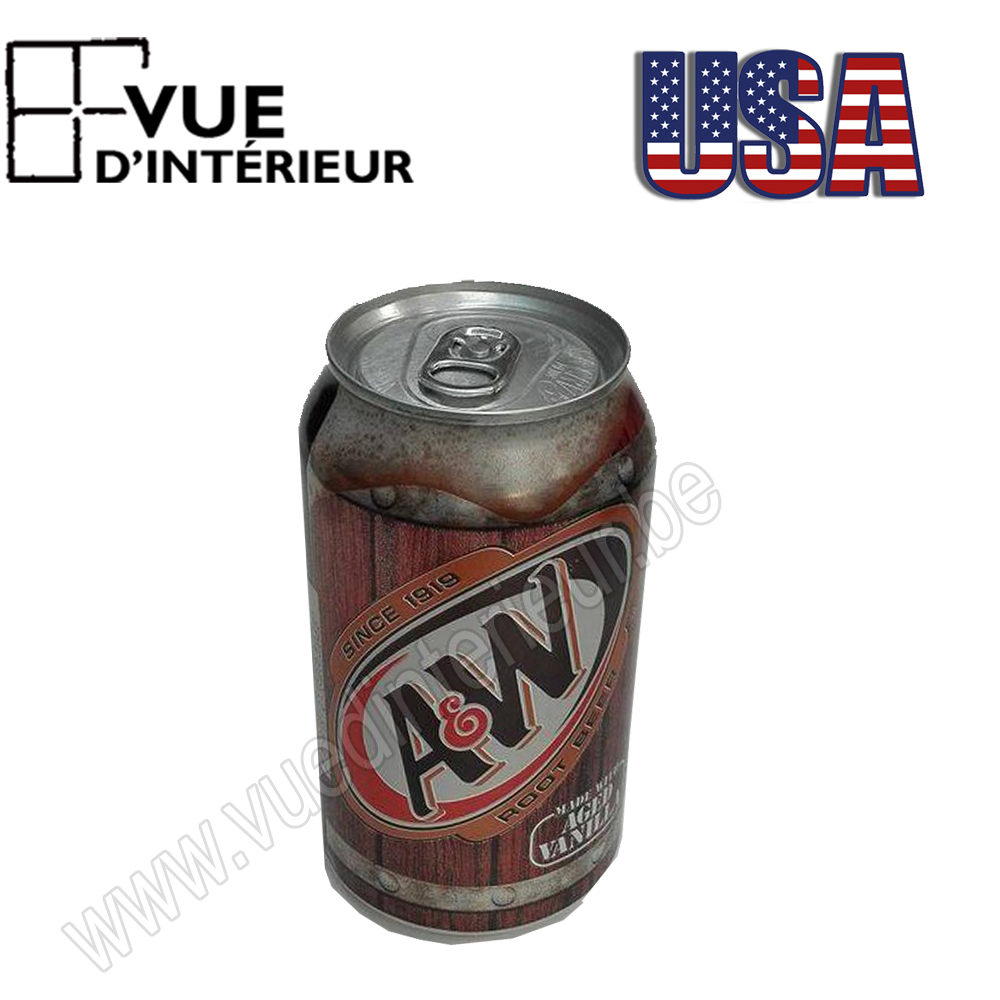 Canette Aw Root Beer (limonade) 355ml