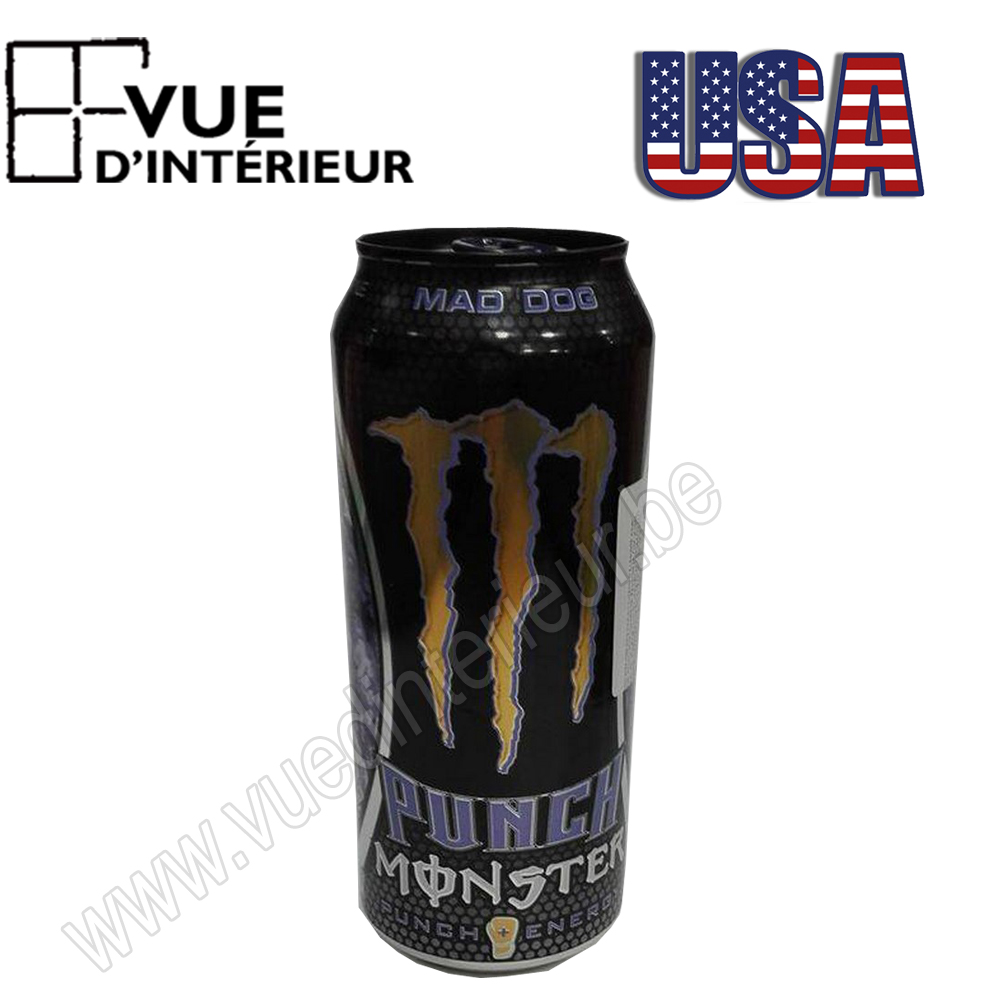 Canette Monster Mad Dog Punch 473ml