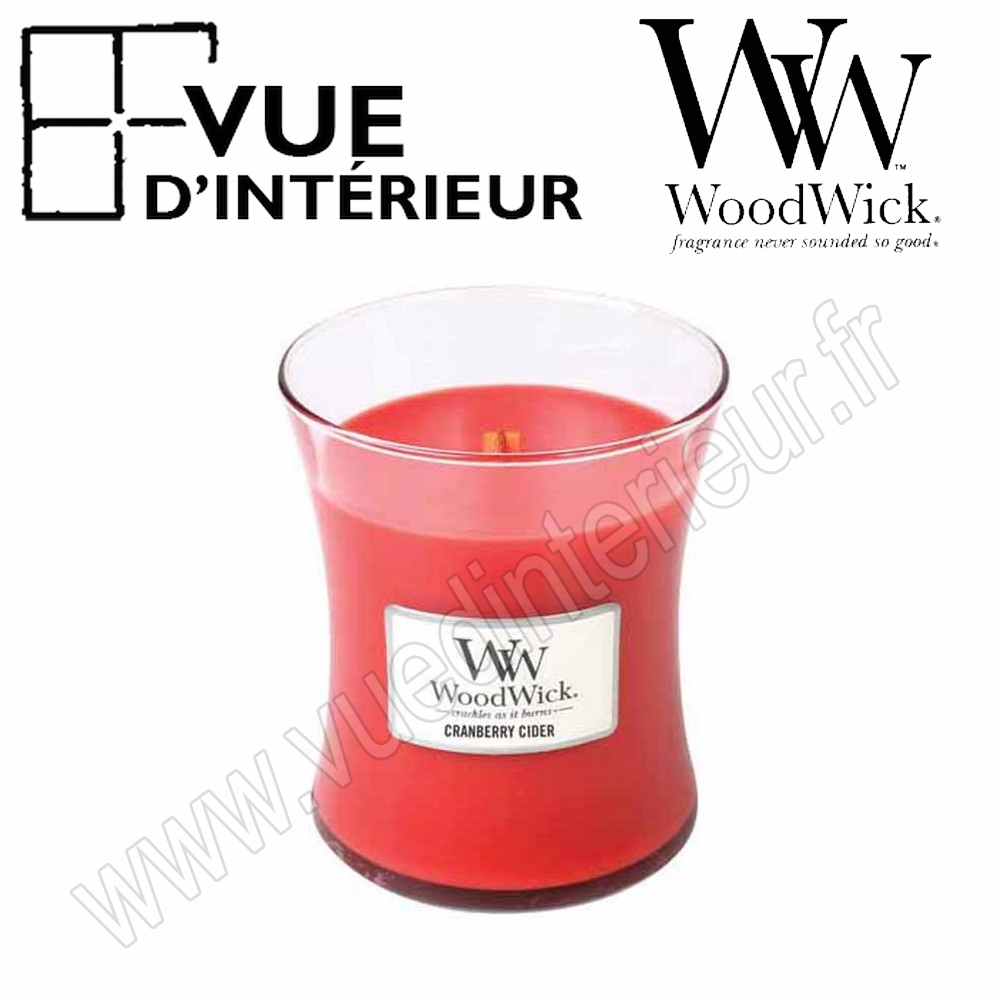 Jar Medium WoodWick Cranberry Medium