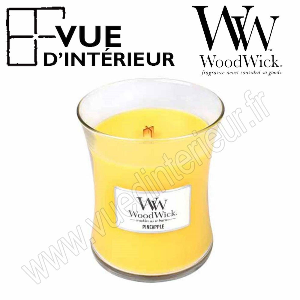 Jar Medium WoodWick Pineapple