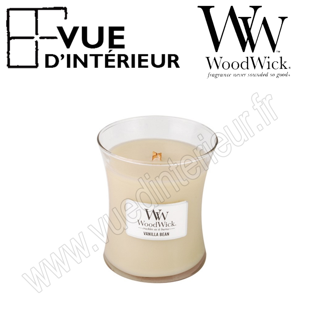 Vanilla Bean Medium Jarre WoodWick