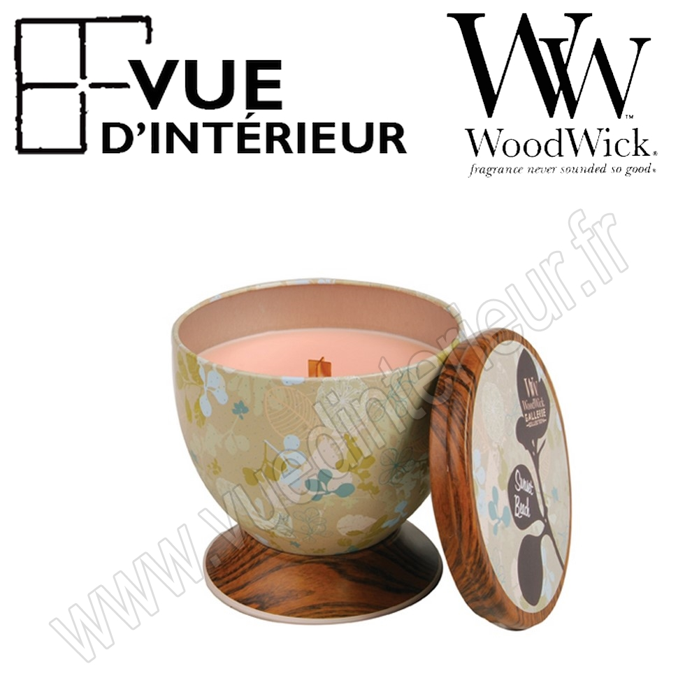 Bougie Parfum?e Sunset Beach WoodWick Collection Gallerie Tin