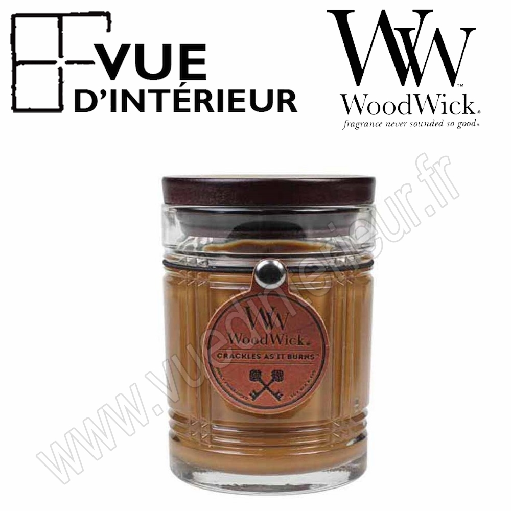 Bougie Parfum?e Humidor WoodWick Collection Reserve