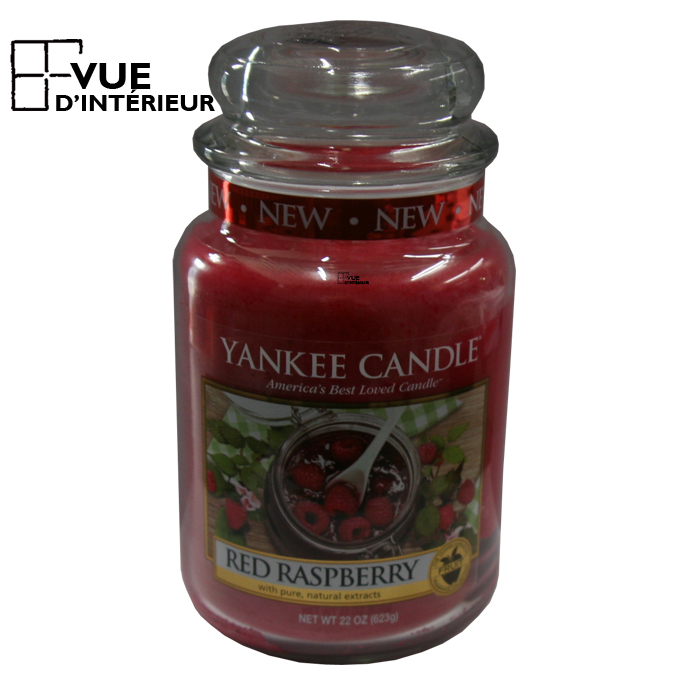 Jar Large Red Raspberry