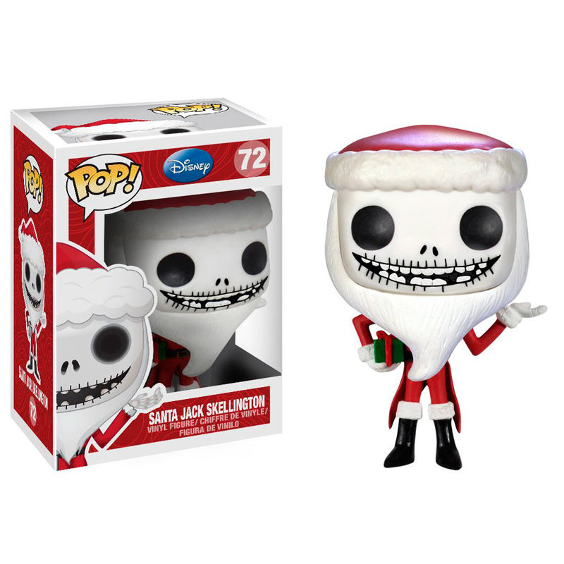 Funko Pop Santa Jack Skellington 72 The Nightmare before Christmas