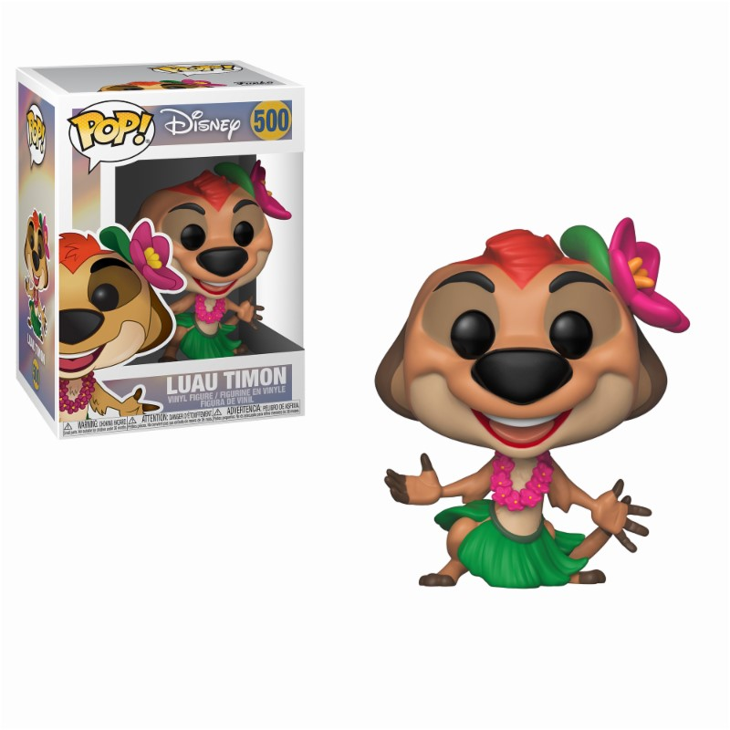 500 Funko Pop Roi Lion Luau Timon Lion King