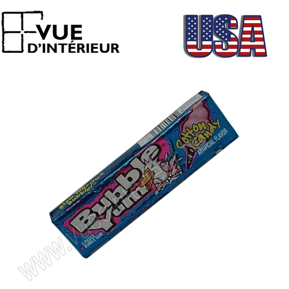 Chewing Gum Barbe Papa-Bubble Yum Cotton Candy