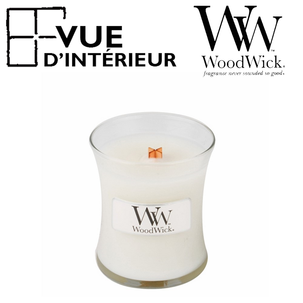 Jar Medium WoodWick Linen