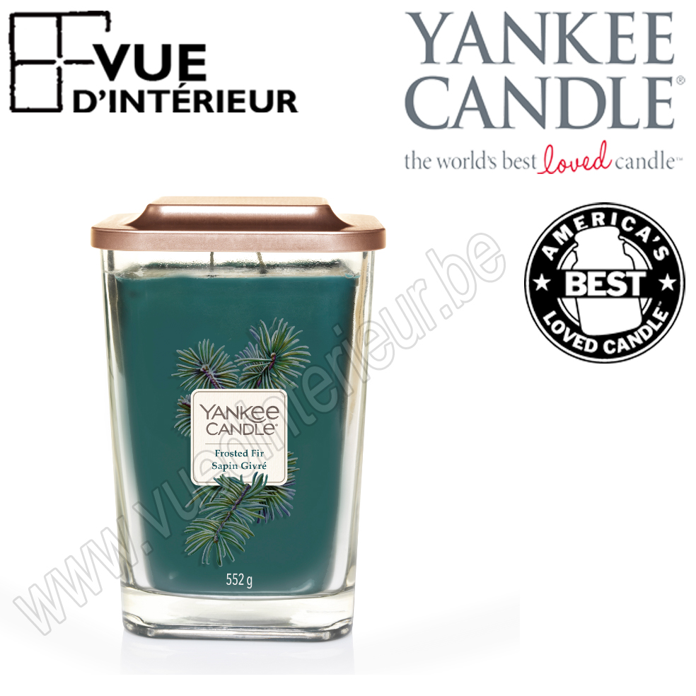Yankee Candle Jarre Large Elevation Frosted Fir